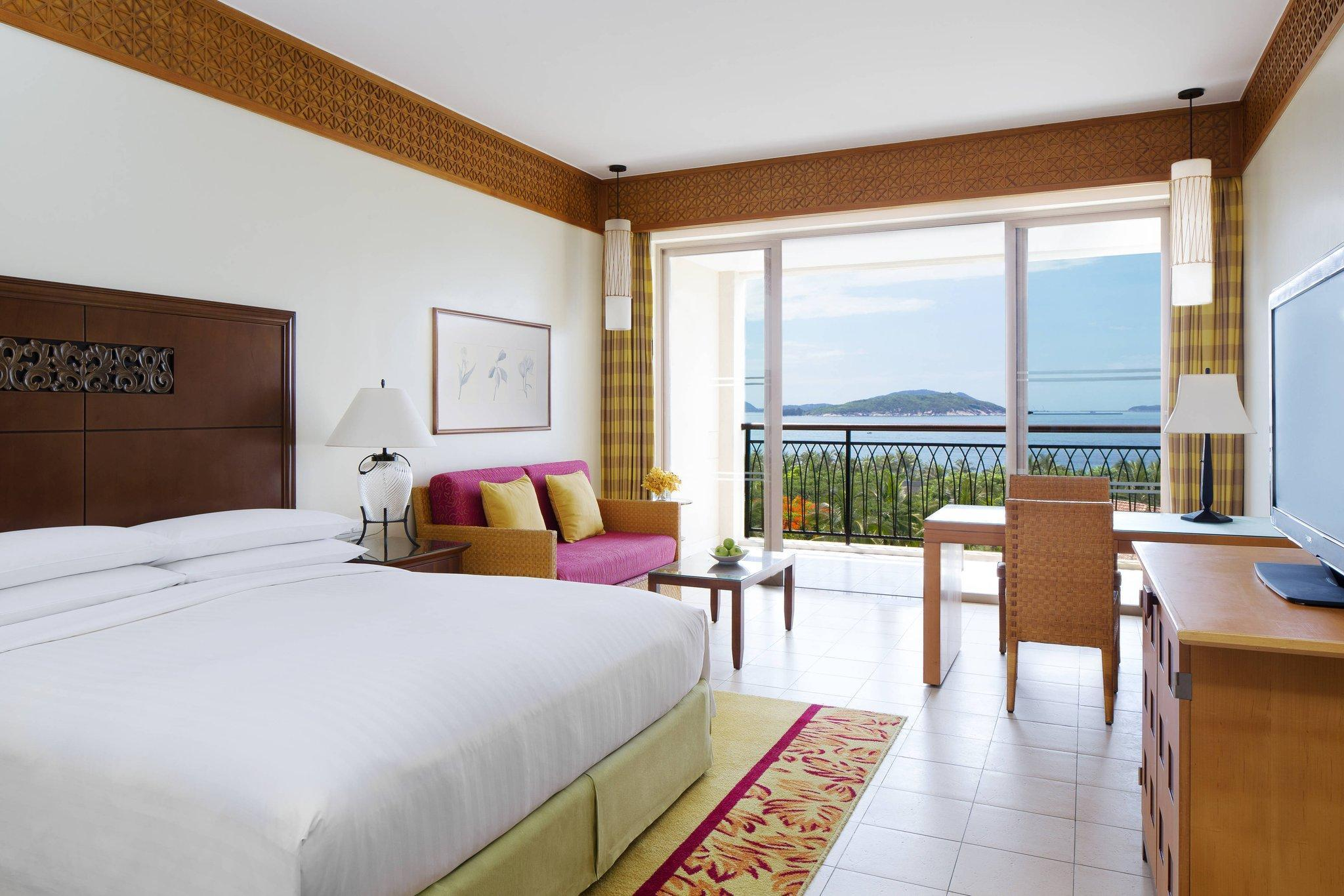 Guest room, 1 King, Ocean View, Balcony, Normal Wing