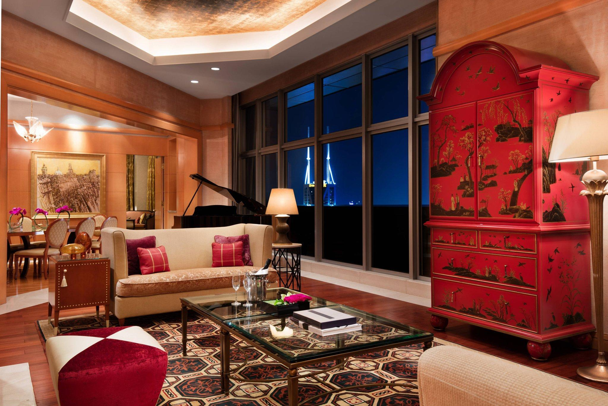Presidential Suite, Executive level, 1 King, City view