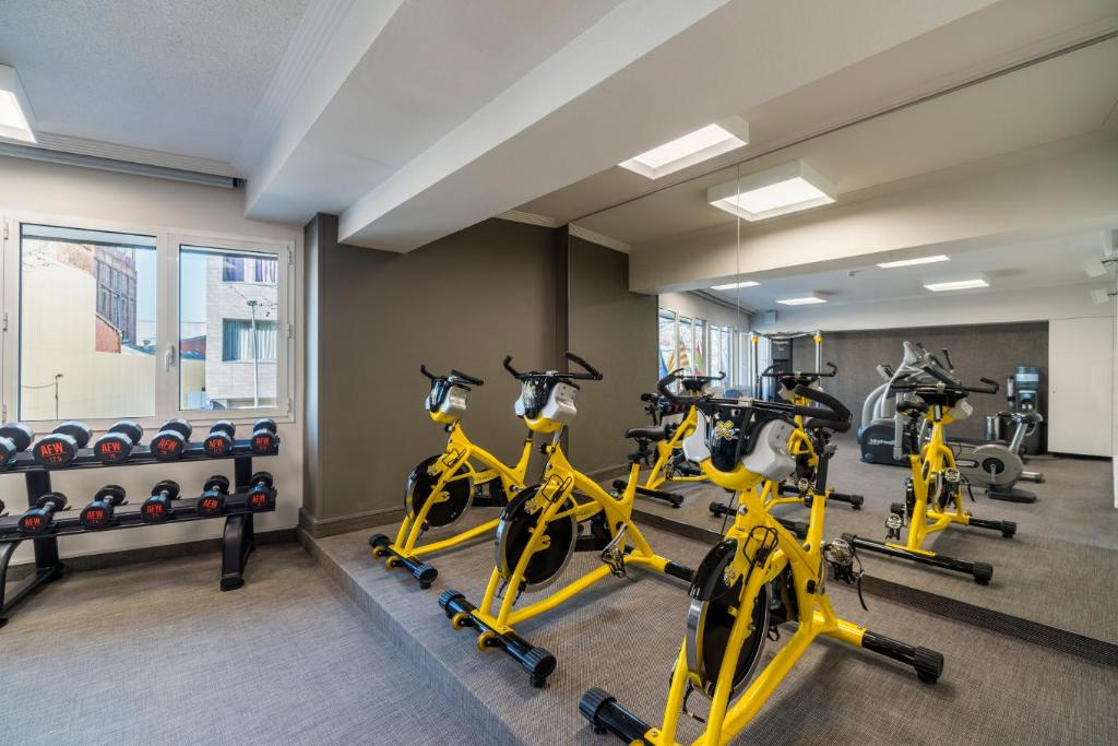 Fitness center Salles Pere IV Hotel