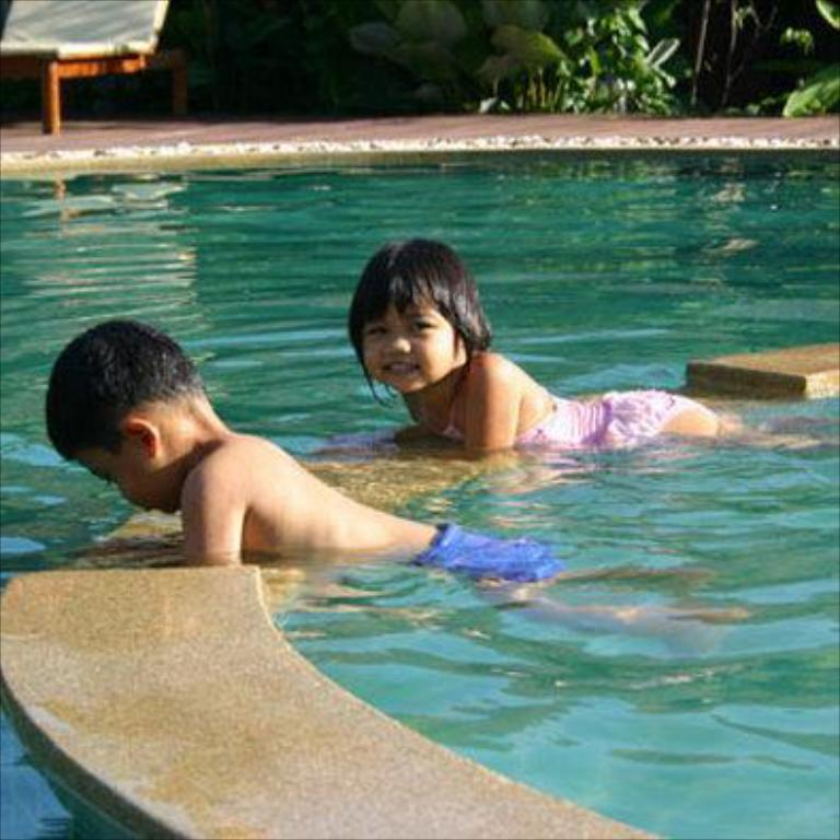 piscine (enfants) Chaw-Ka-Cher Tropicana Lanta Resort