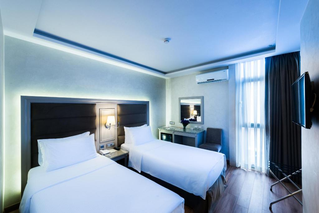 Double Twin Beds Antik Hotel Istanbul