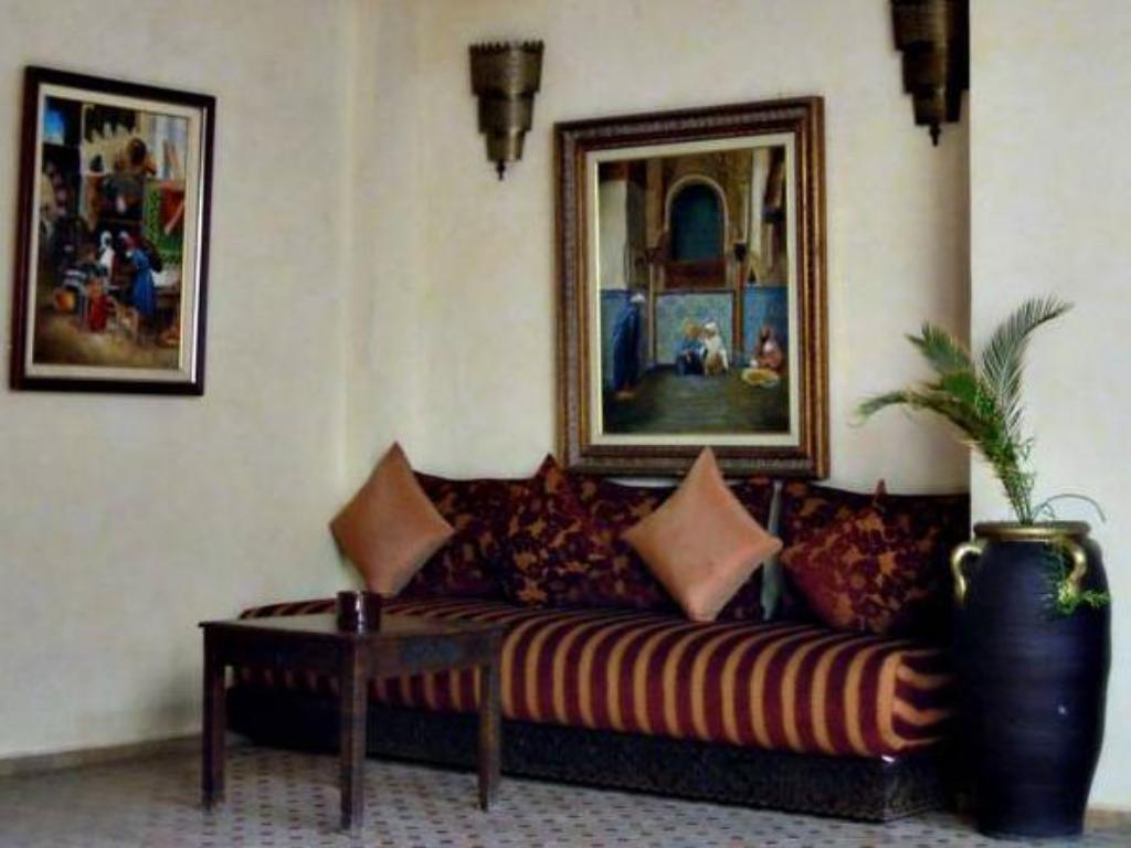 Лоби Riad Marrakech By Hivernage