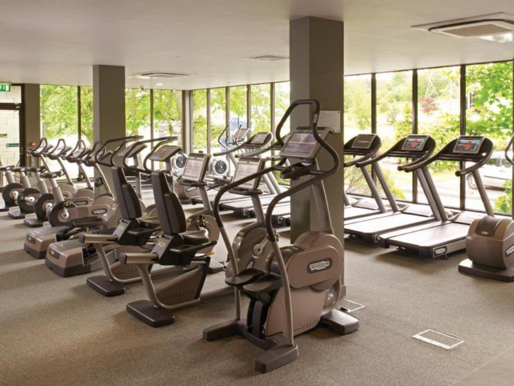 Fitness center Macdonald Inchyra Hotel and Spa