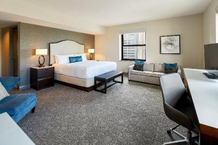1 Bedroom Executive Tower King Suite InterContinental Hotel Chicago