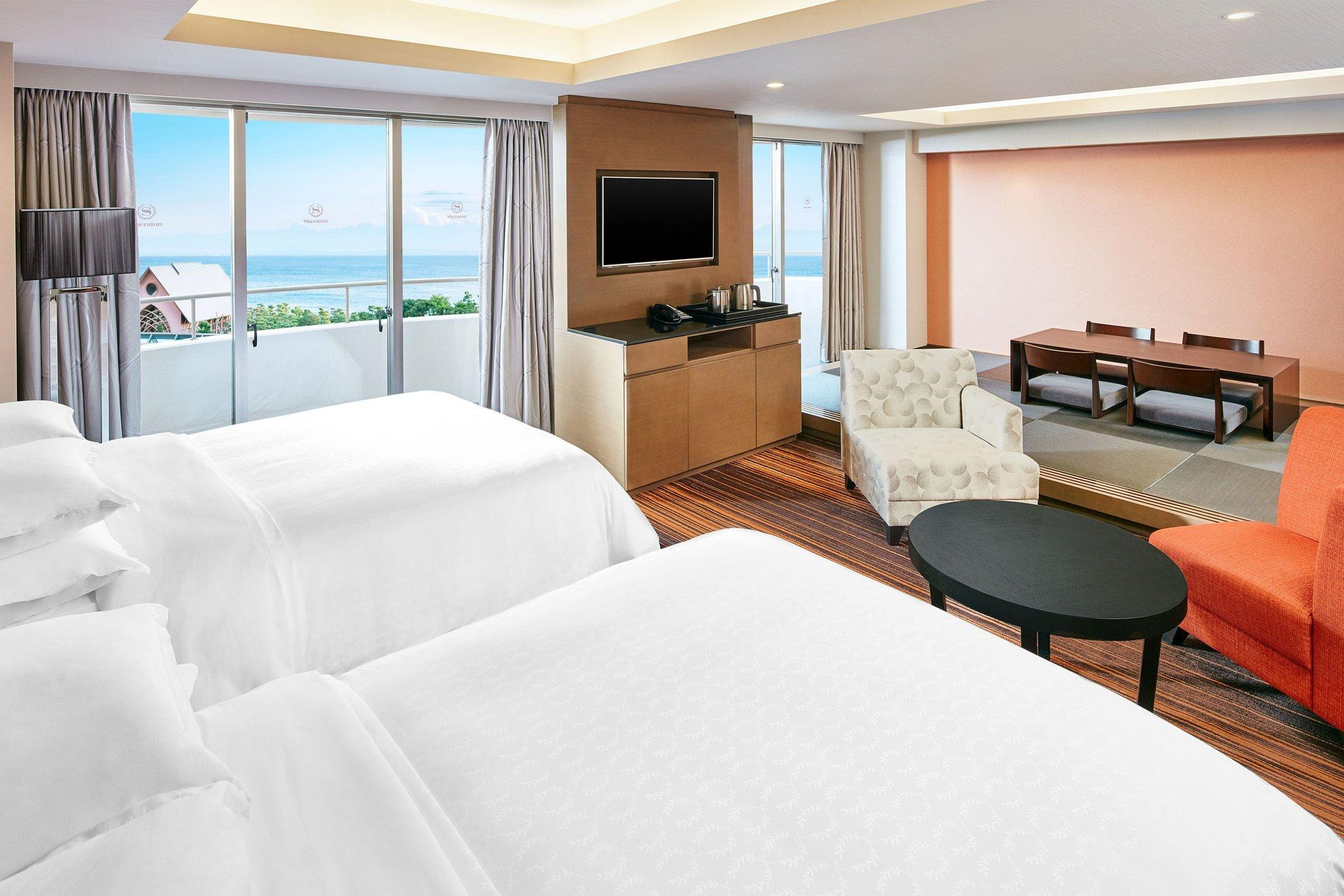 Japanese Suite 6 beds, Club lounge access, 1 Bedroom Suite