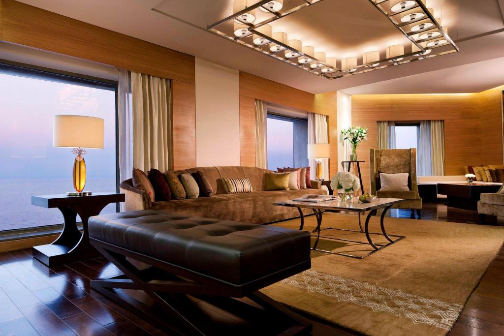 Presidential Suite, Executive lounge access, 1 King JW Marriott Mumbai Juhu