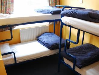 Bed in 4 Beds Mixed with Shared Facilities
