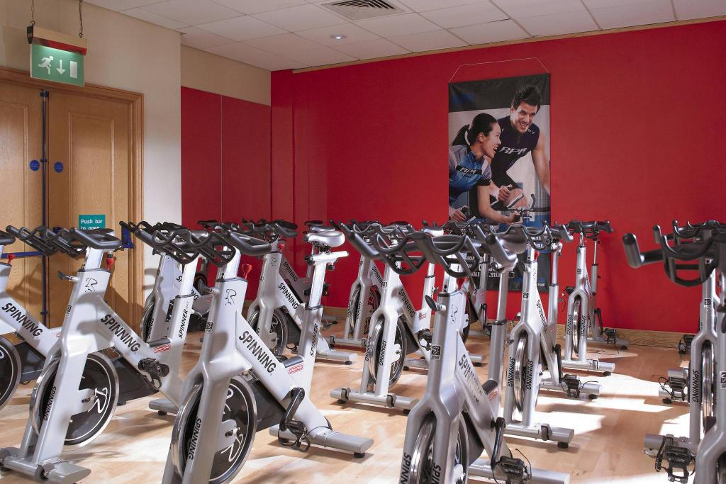 Fitness center Newcastle Gateshead Marriott Hotel MetroCentre