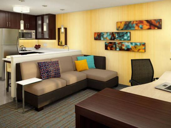 Suite 1 Kamar Tidur dengan Sofa Bed (One-Bedroom Suite with Sofa Bed)