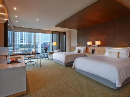 Deluxe Premier Room with Two Queen beds - Kamar Tidur Four Seasons Hotel Tokyo at Marunouchi