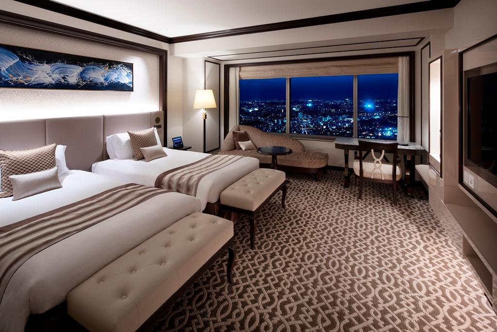 市景豪華房(兩床/俱樂部樓層) - 禁菸 (Club Floor Deluxe City View Twin Room - Non-Smoking)