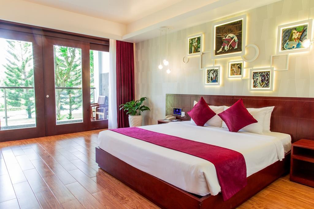 Deluxe Double Bed with Garden View  - ห้องนอน