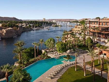 Zwembad Sofitel Legend Old Cataract Aswan