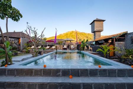 Latengaya Mount Batur View Bungalow
