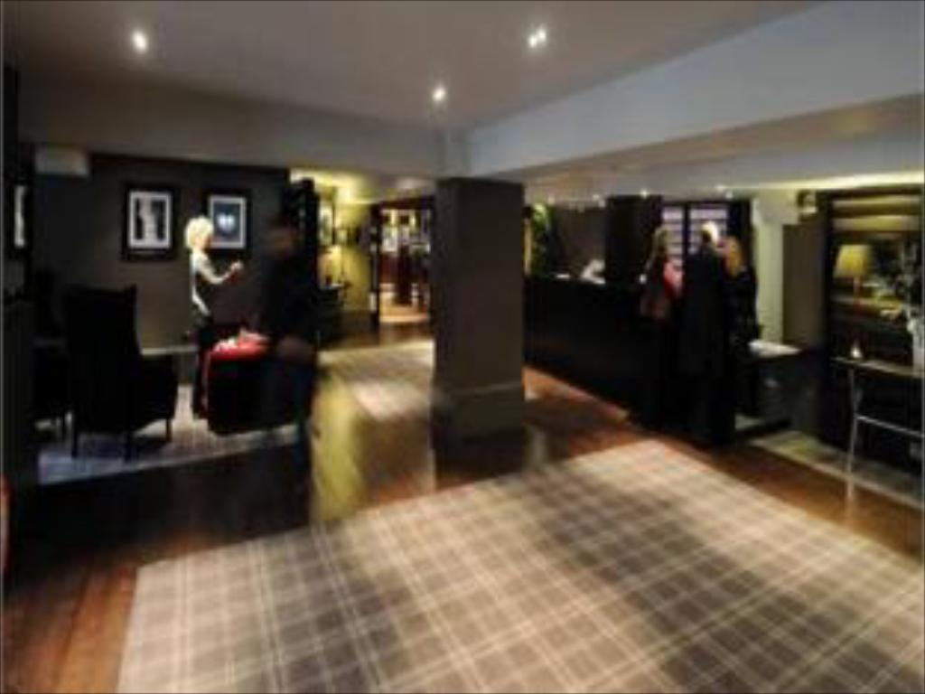 Interior view Village Hotel Manchester Cheadle