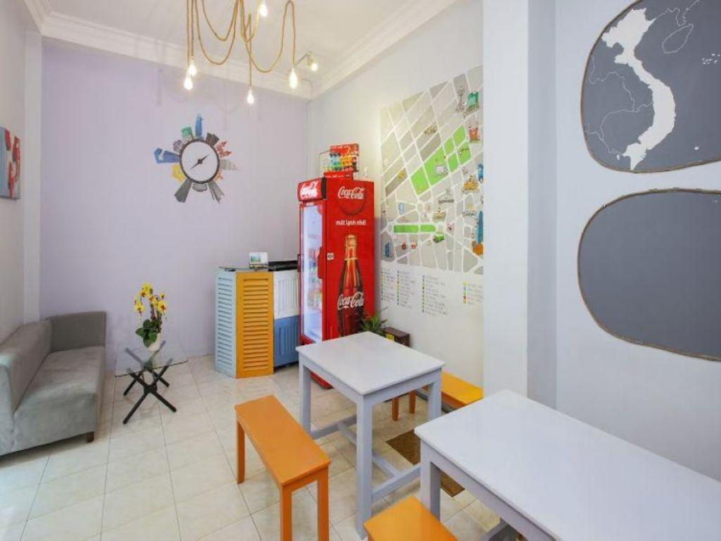 Лоби Saigon Backpackers Hostel @ Cong Quynh