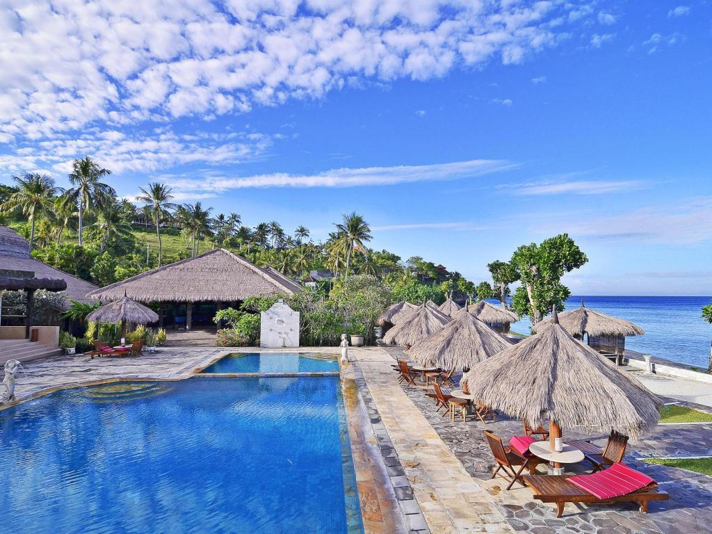 Pasific Beach Cottages Hotel Lombok