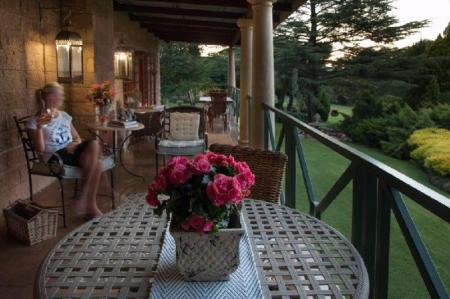 Balkon Andes Clarens Guesthouse