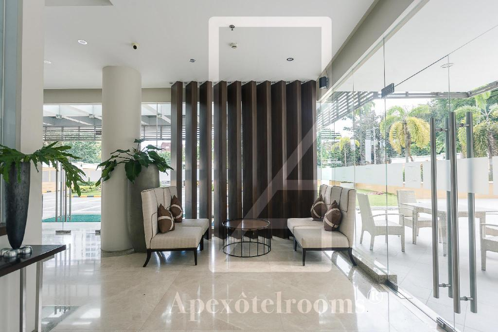 Lobby Ayala Hotel Apartment Best Deluxe Elite Prime Home