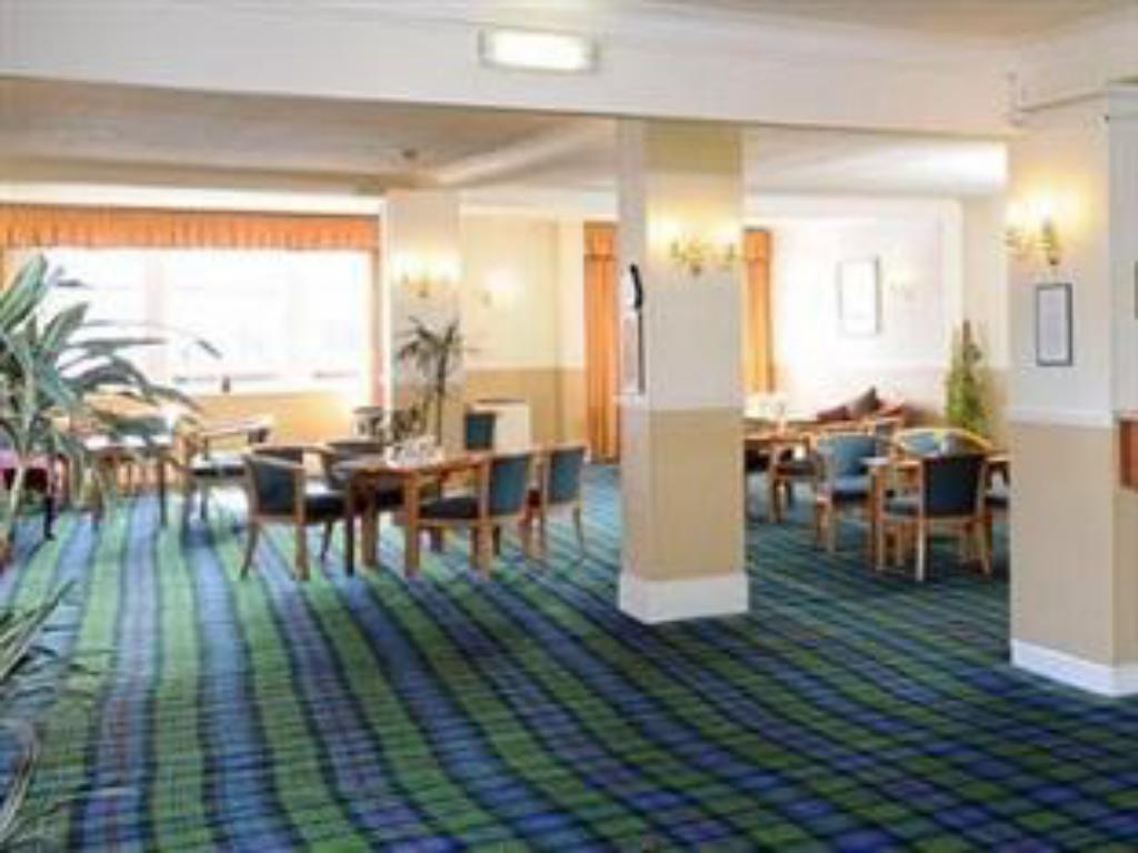 Empfangshalle Caledonian Hotel