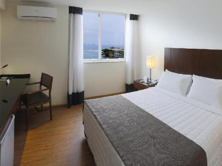 Deluxe Double Room with Sea View Orla Copacabana Hotel