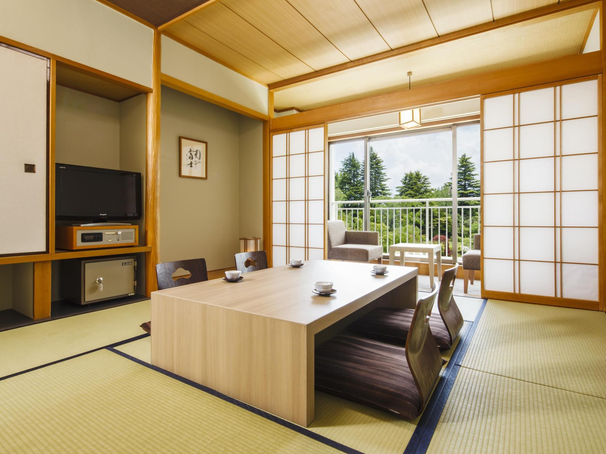 Moderate Garden View Japanese Style Room for 4 People