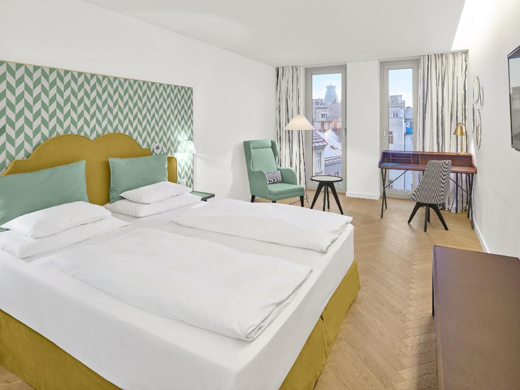 Deluxe Double Room - Bed Maxx by Steigenberger Hotel Vienna