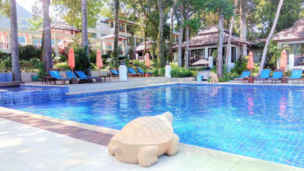 utomhuspool Chang Buri Resort & Spa