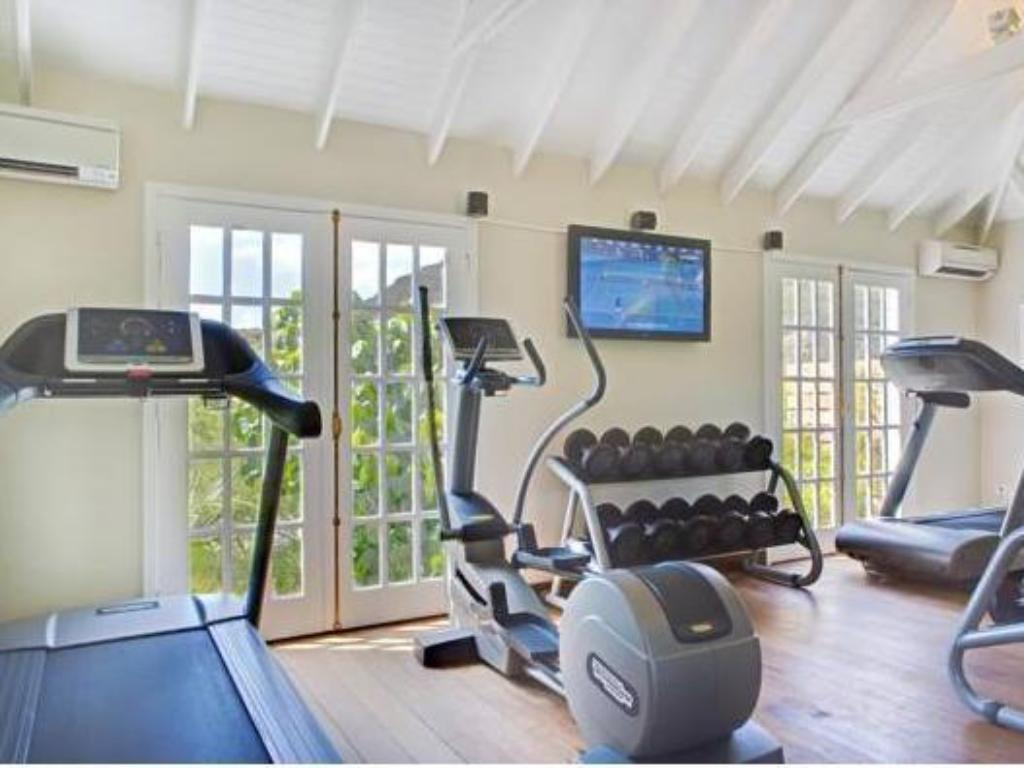 gym Hotel Le Toiny