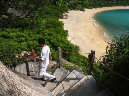 Beach Six Senses Ninh Van Bay