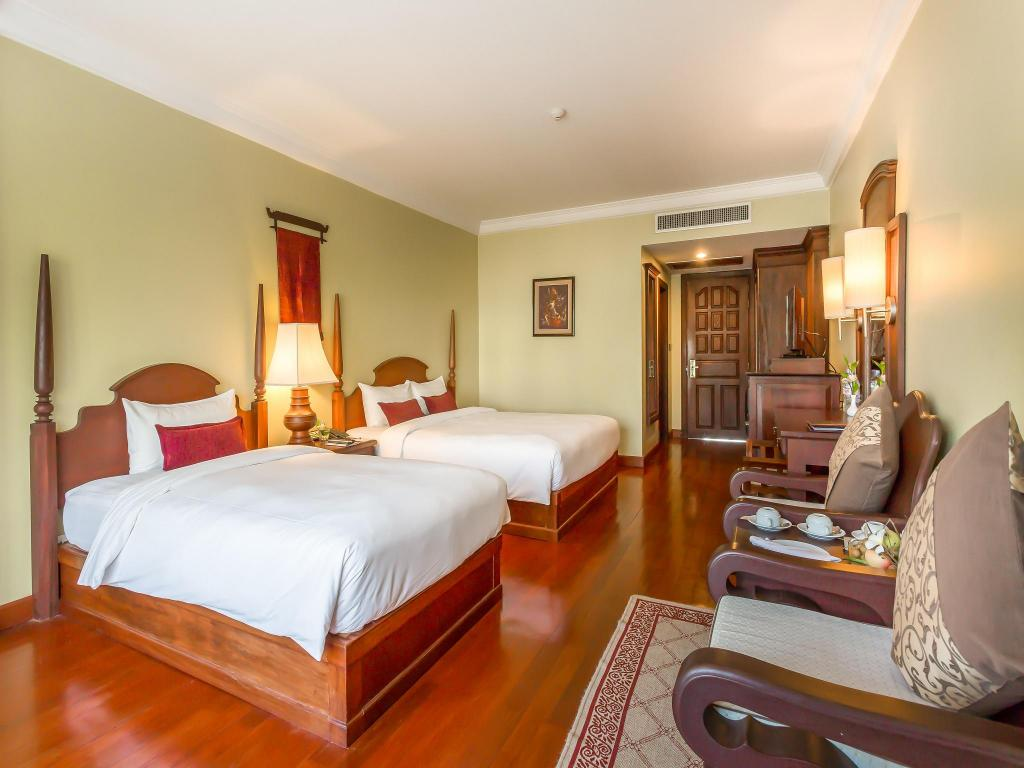 Superior Twin Room - Bed Prince d'Angkor Hotel & Spa