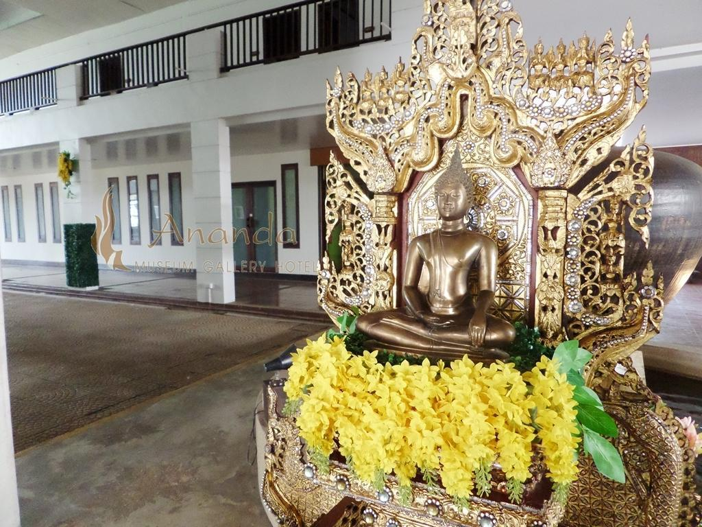Interior view Ananda Museum Gallery Hotel