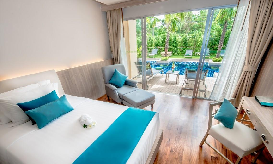 Rum Deluxe med tillträde till pool - Nyrenoverat (Deluxe Room with Pool Access - Newly Renovated)