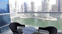 Two Bedroom with Marina View in Continental Tower