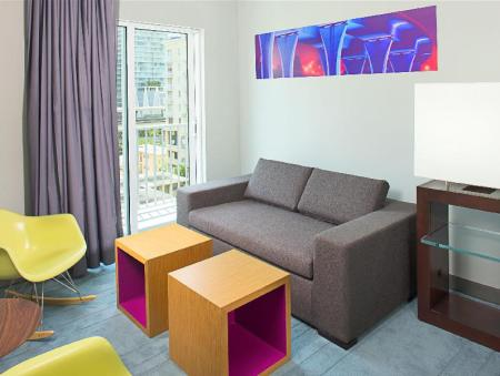 Interior view Aloft Miami - Brickell