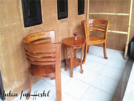 Balcony/terrace Intan Inn Hotel and Resto Gili Trawangan