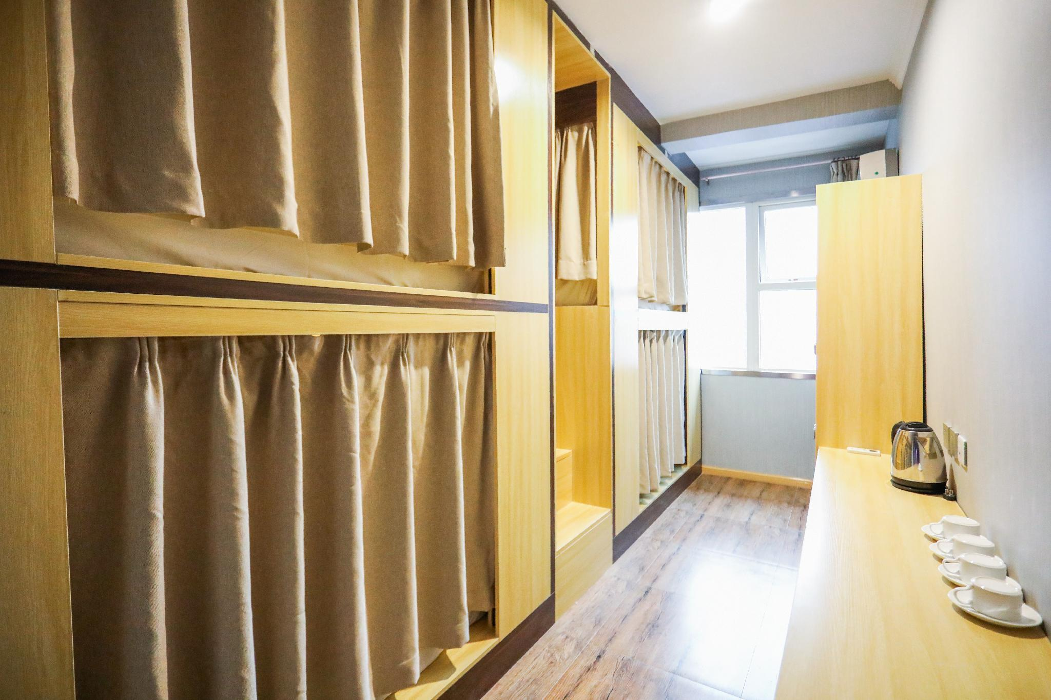 1 Person in 4-Bed Dormitory with Private Bathroom - Female Only