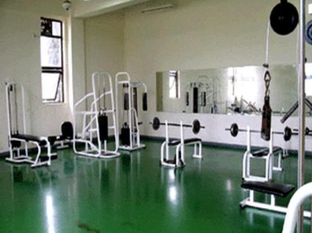Fitness center Pine Ville Pension