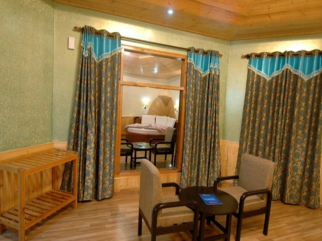 Interior view Village Live In Resort Chail