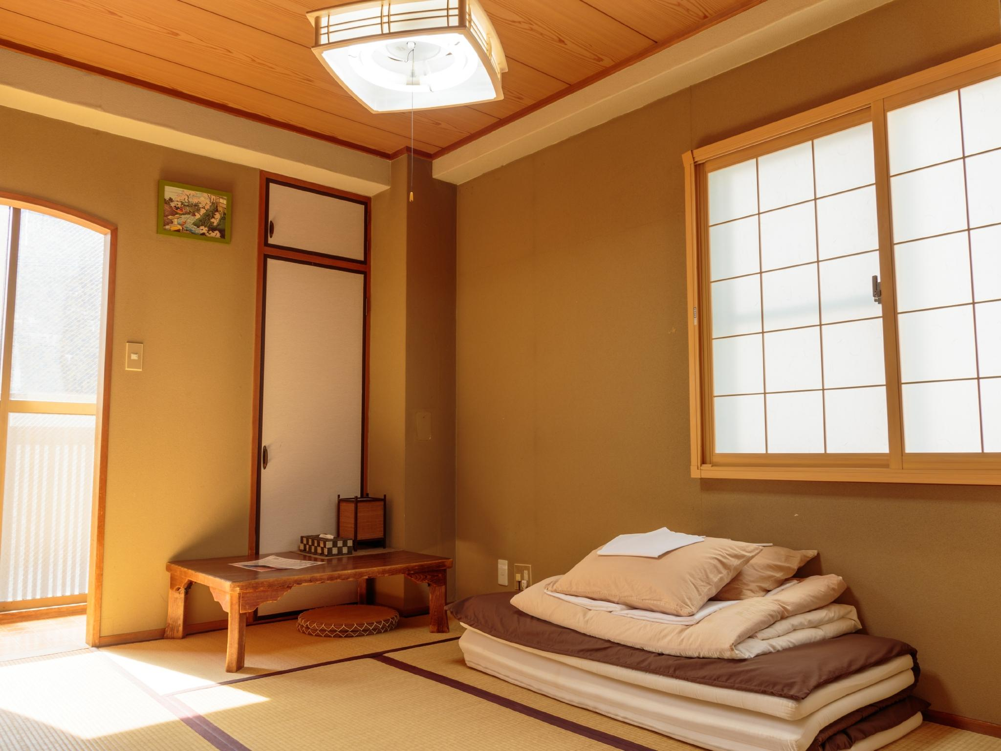 Japanese-Style Double Room with Private Bathroom