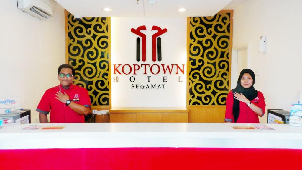 Reception Koptown Hotel Segamat
