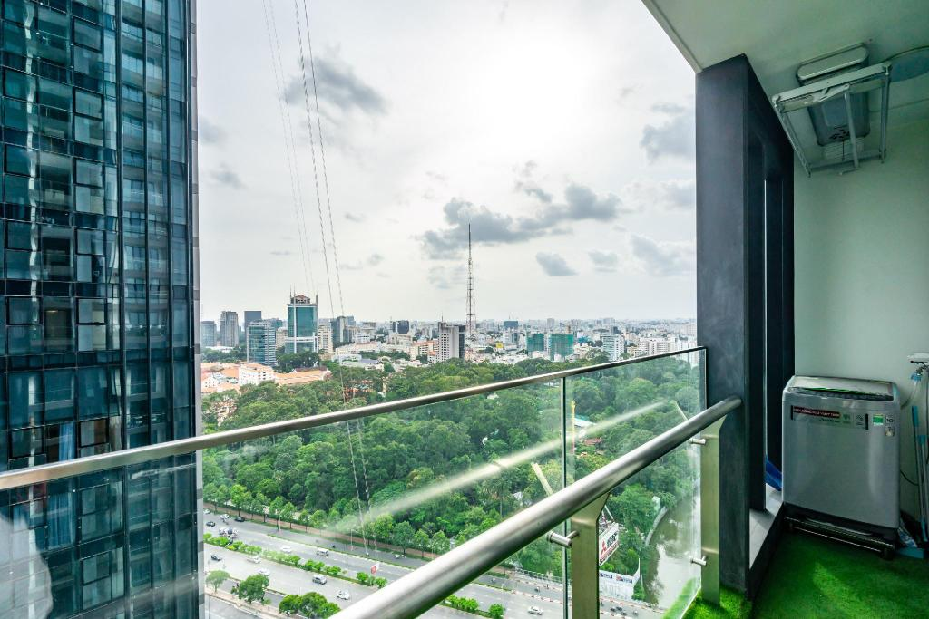 Balkon/terasa 73m² 2 spavaća soba, 2 privatna kupaonica  u District 1