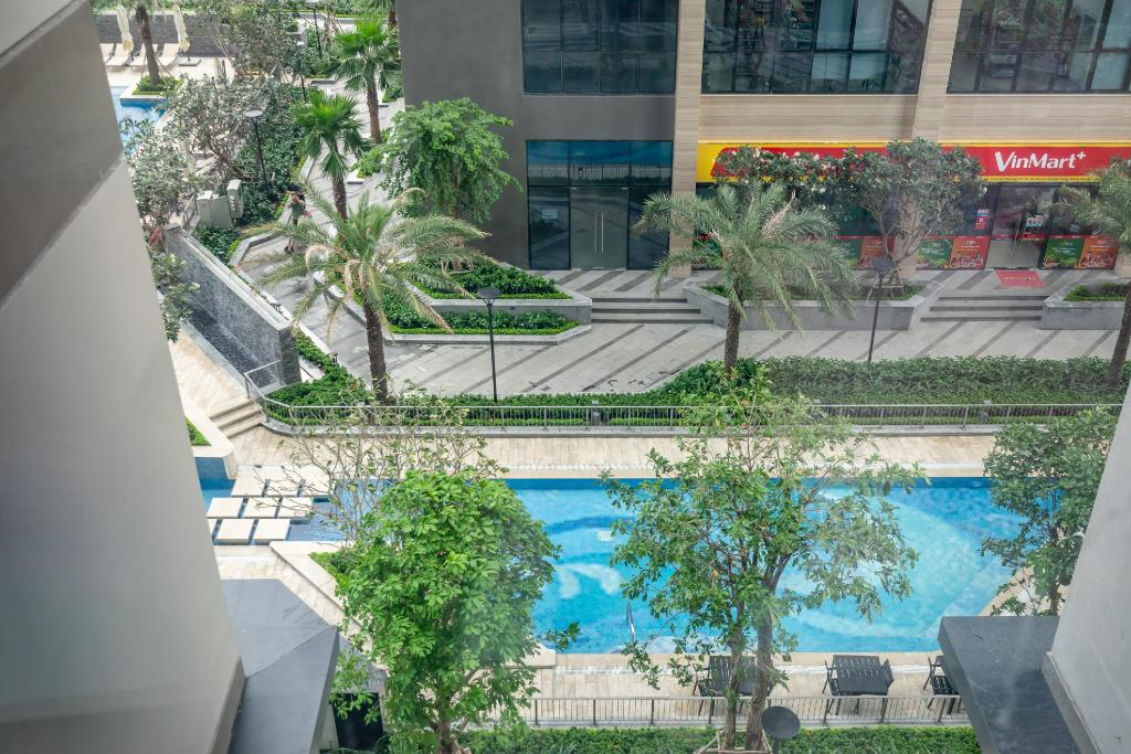 Pogled 73m² 2 spavaća soba, 2 privatna kupaonica  u District 1
