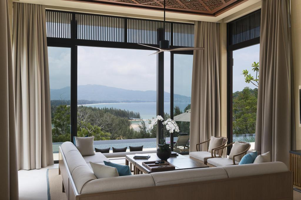 Interior view Anantara Layan Phuket Resort