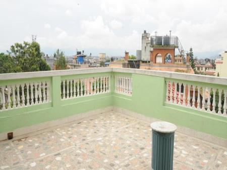 Balcony/terrace Eco Homestay