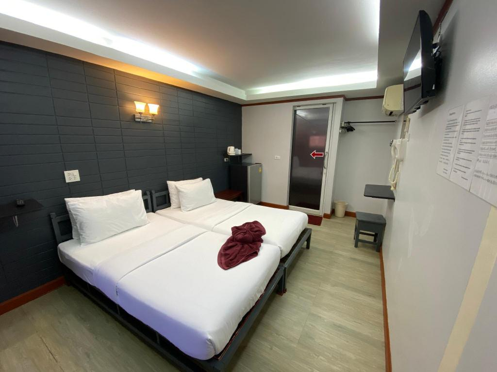 Economy Twin Room - Bed Sinsamut Hotel Koh Samed