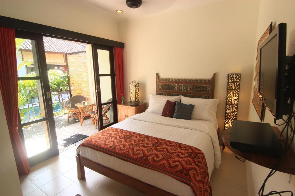 Deluxe Queen Bed - Bed Kembali Lagi Guest House