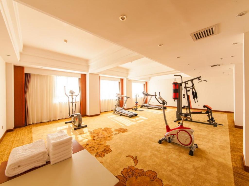 Fitness center Hongkong International Hot Spring Hotel