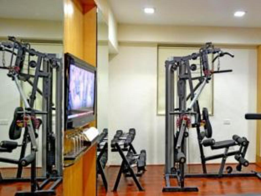Fitness center The Theme Hotel Jaipur