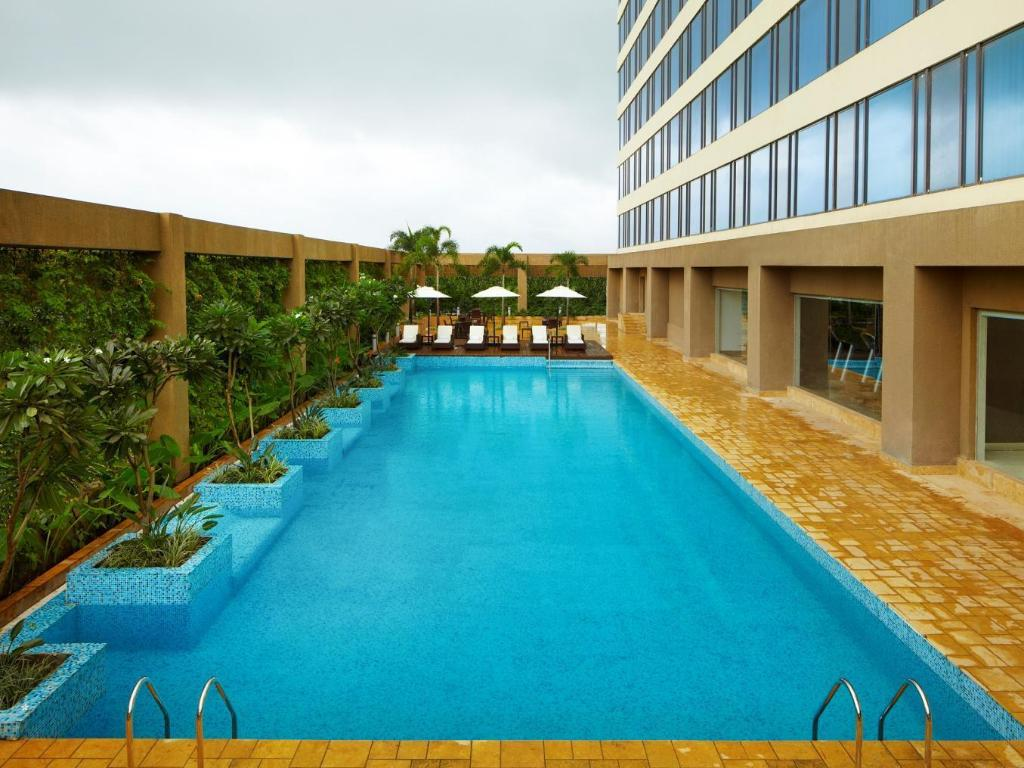 Swimming pool [outdoor] Courtyard Pune Chakan